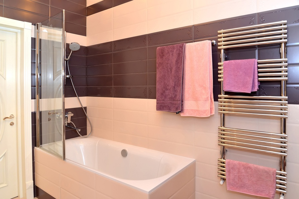 heated-towel-rails-and-ladder